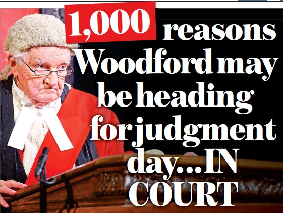 ??  ?? ACCUSED: Lawyers could be close to launching a group against the disgraced fund manager Neil Woodford on behalf of 1,000 investors who have lost out