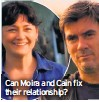 ??  ?? Can Moira and Cain fix their relationship?