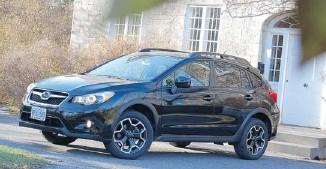 ?? DEREK MCNAUGHTON/POSTMEDIA NEWS ?? The 2013 Subaru XV Crosstrek's Continuously Variable Transmission mates well with all-wheel-drive.