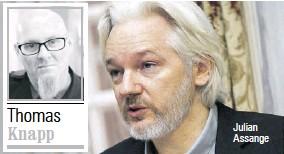 ??  ?? Julian Assange