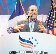 ?? NATI HARNIK/AP ?? Former Arkansas Gov. Mike Huckabee ran for president in 2012 and will do so again in 2016.