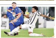 ?? ANSA ?? Weston Mckennie,22 anni, 2 presenze in Serie A