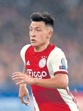 ?? Ap ?? Lisandro Martínez, de Defensa a Ajax, en 2019
