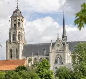 ?? FOTO JOREN DE WEERDT ?? De Sint-Gummaruskerk