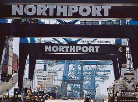 ??  ?? Northport is regarded as the flagship of the government's pioneer privatisation programme.