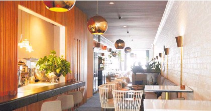 ?? Photo / NZME ?? The Grove in central Auckland (above) and Sails Restaurant in Westhaven are in the world's top 20.