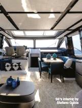 ??  ?? S8's interior by Stefano Guida