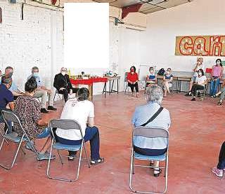 ??  ?? El equipo de Cáritas en la Cañada está formado por doce trabajadores y más de 50 voluntarios: jóvenes, jubilados y también de órdenes religiosas.