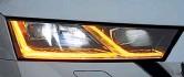 ??  ?? Умный и эффективный матричный свет – вершина развития автомобильных фар. Они доступны для топ-версии Ambition и Style – за доплату в 55 505 гривен.