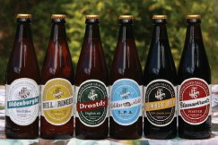 ??  ?? Featherstone Brewery's full range of premium hand-crafted ales.