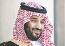 ?? CHARLES PLATIAU/REUTERS ?? Deputy Crown Prince Mohammed bin Salman is pointing toward a thriftier future for Saudi Arabia now that oil prices have fallen.