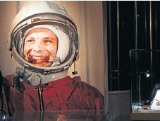 ??  ?? Yuri Gagarin was the first man in space in April 1961.