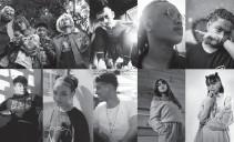 ??  ?? Def Jam PH Artists (L-R) VVS Collective, JMara, DonWilson, SCYE, Eurieka, Fateeha, Tommie King, Tiffany Lhei, J-Nine