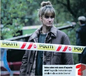 ?? ?? La detectiu Thulin (Danica Curcic), a la recerca d'un assassí en sèrie.