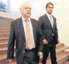??  ?? ►► Rafael Guilisasti y Patricio Contesse Fica.