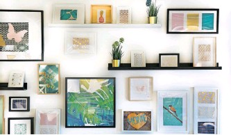 ?? | Unsplash ?? CREATE a gallery wall for all the artwork you have accumulated over the years.