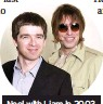 ??  ?? Noel with Liam in 2003 during their Oasis days