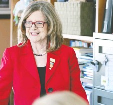 ?? NICK BRANCACCIO ?? Doris Grinspun, CEO of the Registered Nurses' Association of Ontario, is urging a vaccination push into vulnerable areas.
