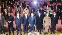 ?? Foto: Bülent Mavzer - aa ?? Azerbaycan'ın Dağlık Karabağ bölgesindeki Hocalı şehrinde 1992'de aralarında kadın ve çocukların da bulunduğu 613 kişinin katledilmesinin 29. yılı sebebiyle Iğdır'da anma programı düzenlendi.