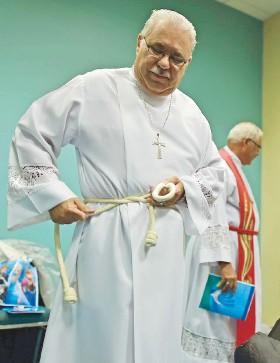 ??  ?? Héctor F. Ortiz Vidal es el cuarto obispo de la Iglesia Metodista de Puerto Rico, precedido por Víctor Bonilla, Juan Vera y Rafael Moreno,