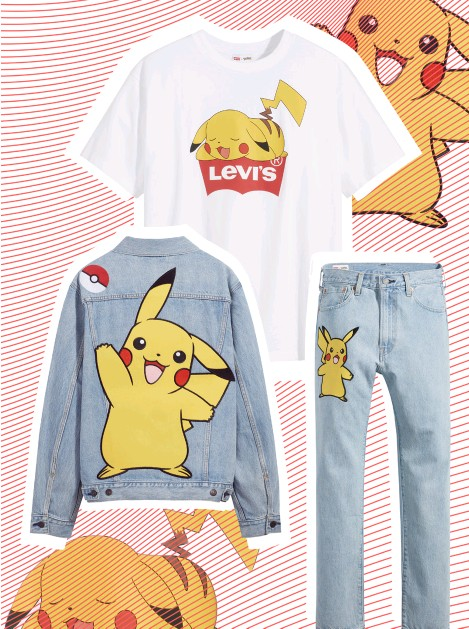 ??  ?? Levi's x Pokémon