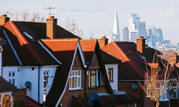 ?? Bloomberg ?? Market push: The UK property market may get a further boost from next week's budget, with Chancellor Rishi Sunak expected to extend tax relief on purchases.