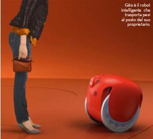 ?? È il robot intelligente che trasporta pesi al posto del suo proprietario. ?? Gita