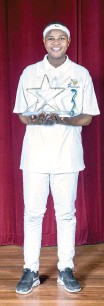 ??  ?? KHANYA Rubushe, 19, won the stage magic contest at the Western Cape Junior Magician Championships last year. PICTURE: SUPPLIED