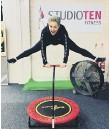??  ?? Owner of Studio Ten Fitness, Leanne Nyland.