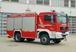 ??  ?? Reine Tanklöschfahrzeuge gab es in Bochum immer nur vereinzelt. Aktuell steht nur noch dieses TLF 20/40-SL auf Wache 3 in Dienst. Rosenbauer fertigte es 2013 auf einem MAN TGM 18.340 4x4.
