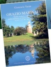 ??  ?? Talento La copertina del libro di Giancarlo Saran dedicato a Orazio Marinali E alcuni scorci veneti dove la traccia dell'artista è riconoscibile