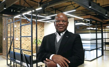 ?? Picture: Masi Losi ?? July Ndlovu, CEO of new and soon-to-be-listed Thungela Resources.