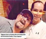 ?? /Foto: Especial ?? Siguen los rumores de una relación entre los actores.