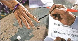 ??  ?? Tamil Nadu witnessed a general election without an ideological discourse