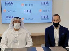 ??  ??  Emirates Development Bank recently allocated AED30 million to finance SMES through Beehive