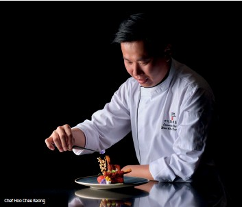??  ?? Chef Hoo Chee Keong