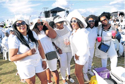 Pressreader Sowetan 2019 11 05 All White Party Through The Lens