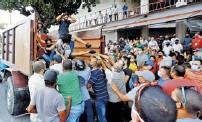 ?? Efe ?? El Gobierno llamó a sus partidarios a movilizarse en respuesta a las manifestaciones.