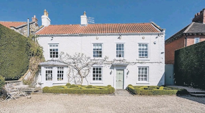 ??  ?? This large family home at Scalby has extensive accommodation and gardens.