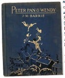 ??  ?? JM Barrie is credited with popularising the name Wendy