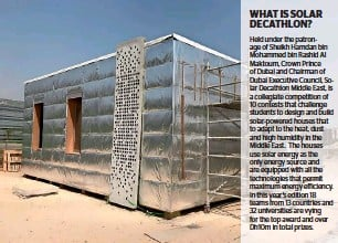 ??  ?? A prototype of Baitykool protype, being constructed by a team of students at Amity University