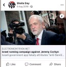 ??  ?? One of the posts shared by Labour women's officer Sheila Day