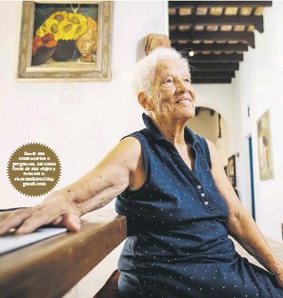 ??  ?? Christiane Botello llegó a tener cuatro galerías.