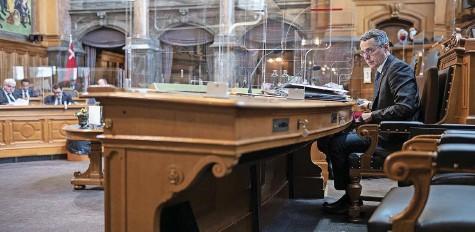?? Foto: Keystone ?? Lief am Mittwoch im Bundesrat auf: Aussenminister Ignazio Cassis