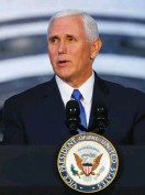 ?? (Jonathan Ernst/Reuters) ?? US VICE PRESIDENT Mike Pence.