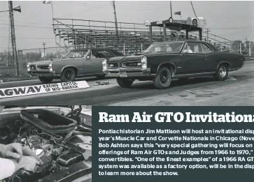 PressReader - Muscle Car Review: 2019-06-01 - Ram Air GTO