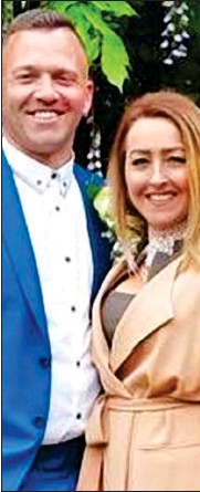 ??  ?? SUSPECTS: Paul Gait and his wife Elaine Kirk were arrested at their home over the drone chaos