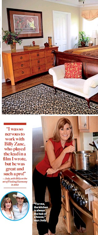 """??  ?? """"For me, the kitchen is always the hub of a house,"""" says Judy."""