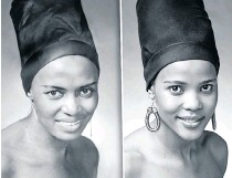 ??  ?? Andisa Ndlovu as Miriam Makeba (1932-2008)