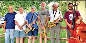 ?? Photo courtesy Inyo Council for the Arts ?? The Bishop Jazz Combo will be the opening act Sunday afternoon at the Millpond Music Festival.